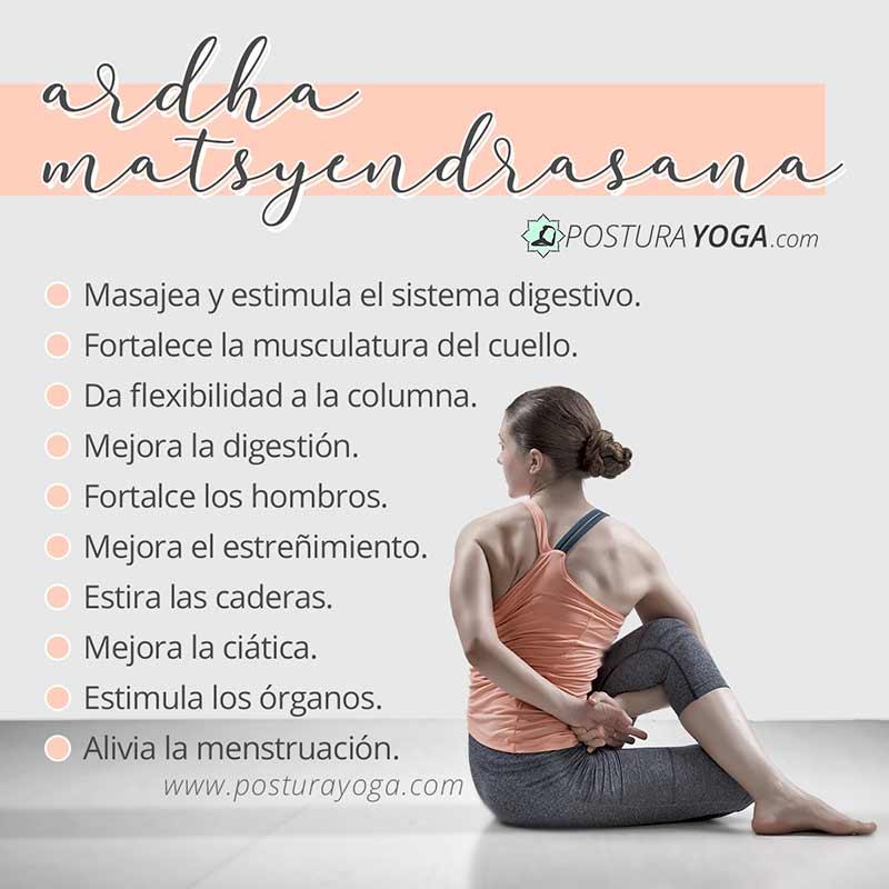 Beneficios de matsyendrasana