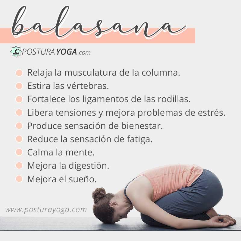 Beneficios de Balasana