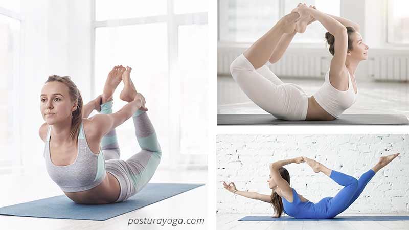 Como hacer la postura del arco
