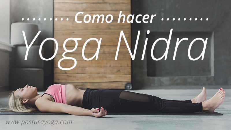 como hacer yoga nidra