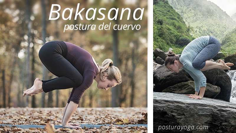 Bakasana, postura del cuervo