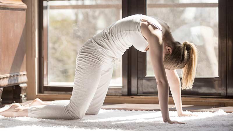 Posturas de yoga para la ansiedad